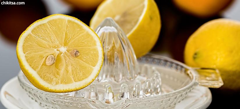 lemon juice will help for piles